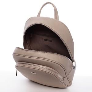 Módní dámský batoh David Jones Aqua - béžová