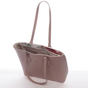 Dámská kabelka David Jones Molly - růžová