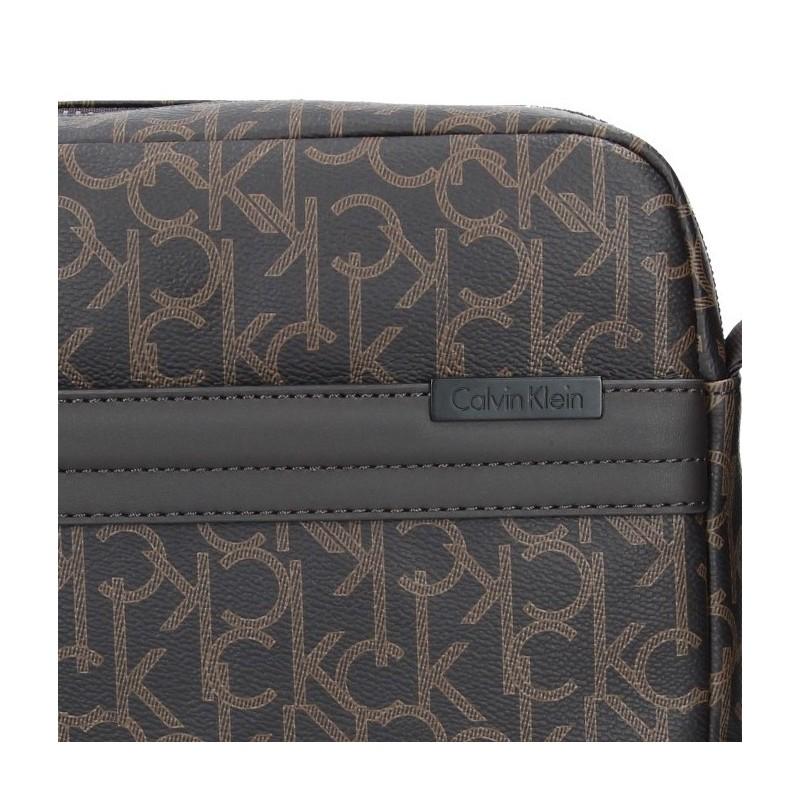 Pánská taška přes rameno Calvin Klein Port - hnědá