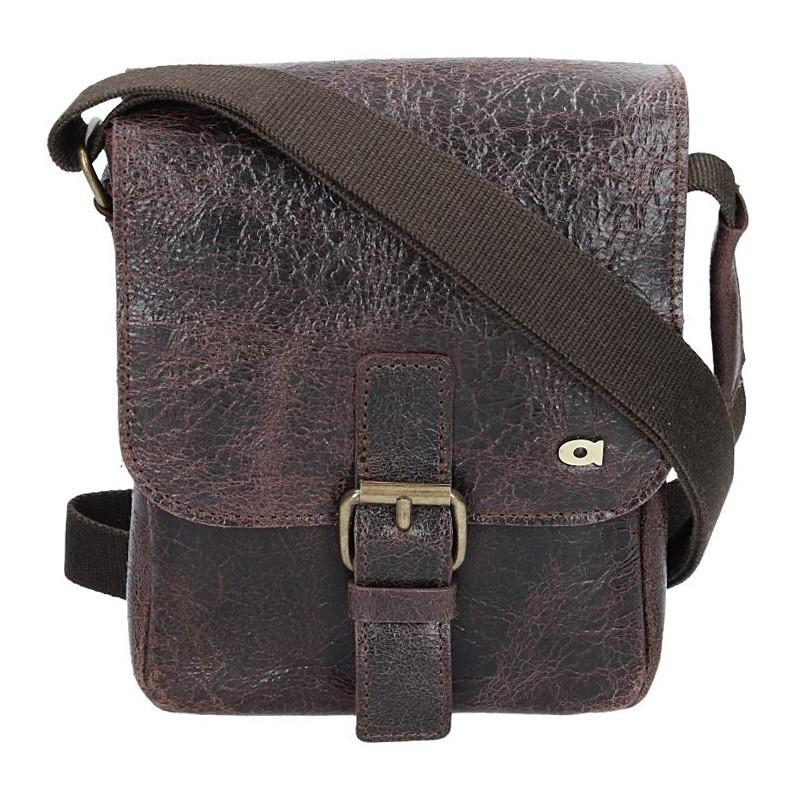 Pánská taška Daag JAZZY WANTED 86 - tmavě hnědá