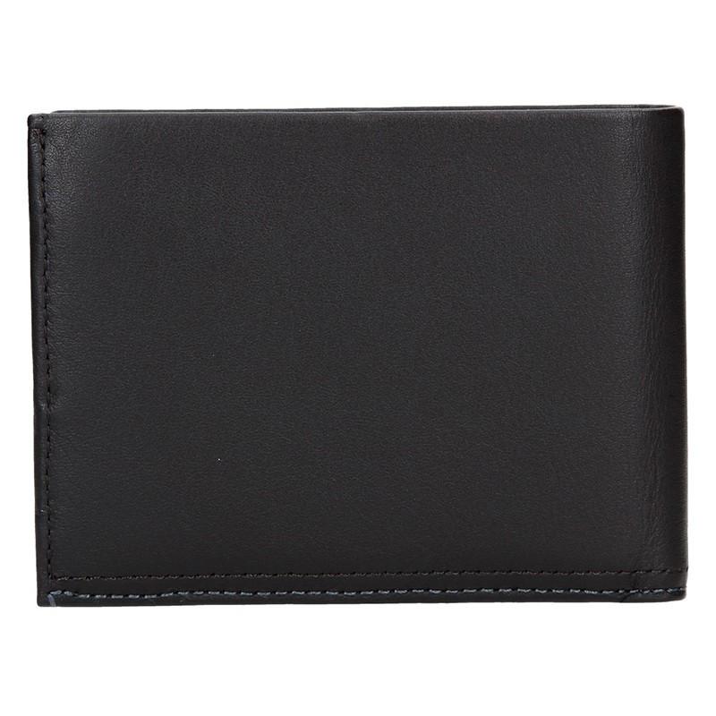 Pánská kožená peněženka Calvin Klein Abel - tmavě hnědá