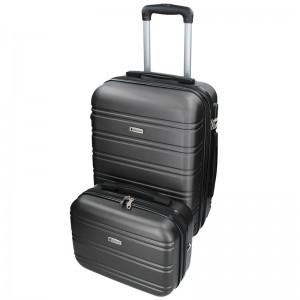Sada dvou cestovních kufrů Airtex Worldline 531/2 - šedá