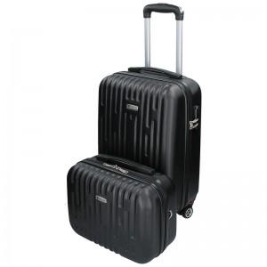 Sada dvou cestovních kufrů Airtex Worldline Kuga - černá