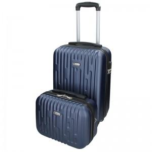 Sada dvou cestovních kufrů Airtex Worldline Kuga - modrá
