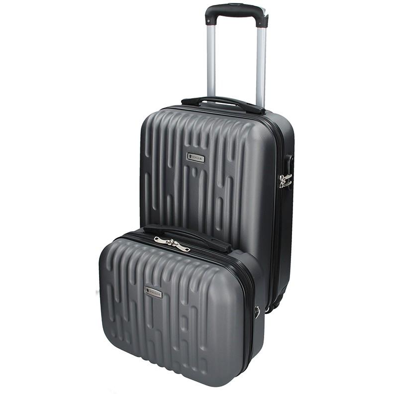 Sada dvou cestovních kufrů Airtex Worldline Kuga - šedá