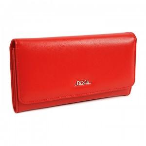 Dámská peněženka Doca 65310 - červená