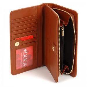 Dámská peněženka Doca 65315 - camel