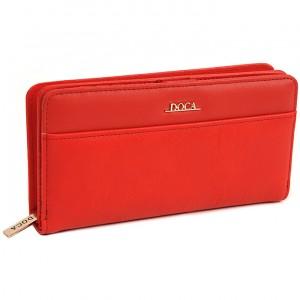 Dámská peněženka Doca 65316 - červená