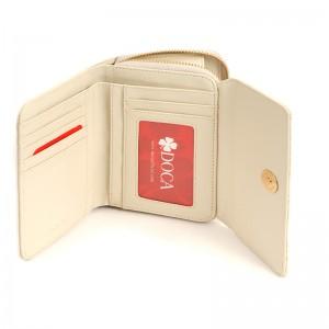 Dámská peněženka Doca 65354 - krémová