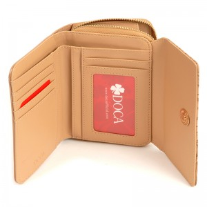 Dámská peněženka Doca 65355 - béžová