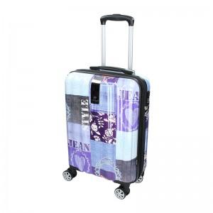 Cestovní kufr Airtex Paris Violet S
