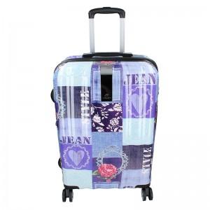 Cestovní kufr Airtex Paris Violet M