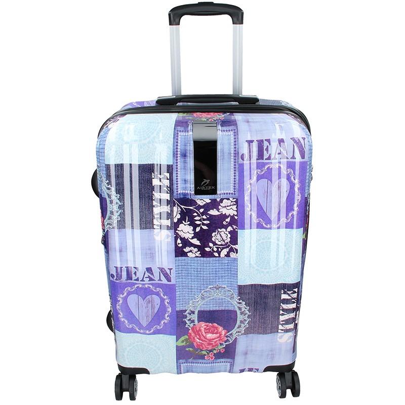 Cestovní kufr Airtex Paris Violet L 115l