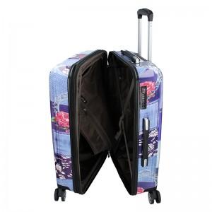 Cestovní kufr Airtex Paris Violet L