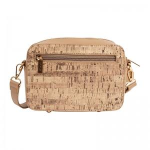 Dámská crossbody kabelka Doca 14917 - béžová