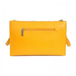 Dámská crossbody kabelka Doca 14836 - žlutá