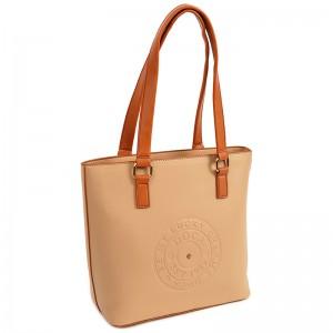 Dámská kabelka Doca 14512 - béžová