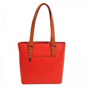 Dámská kabelka Doca 14513 - červená