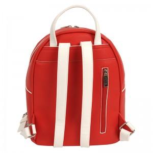 Dámský batoh Doca 14641 - červená