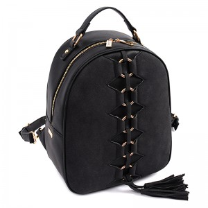 Dámský batoh Doca 14840 - černá