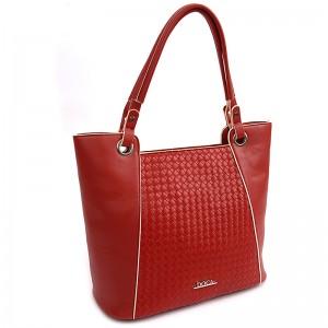 Dámská kabelka Doca 14583 - červená