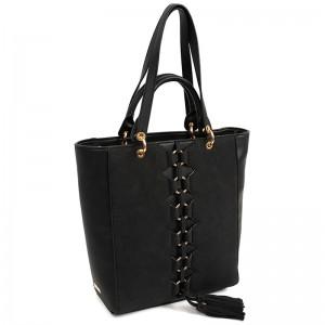 Dámská kabelka Doca 14837 - černá