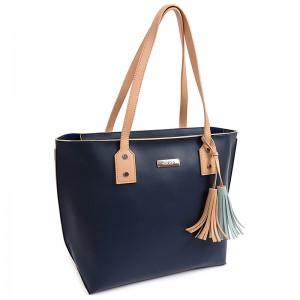 Dámská kabelka Doca 15048 - modrá