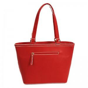 Dámská kabelka Doca 14490 - červená