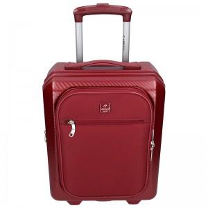 Cestovní kufr Airtex Paris Genym - vínová