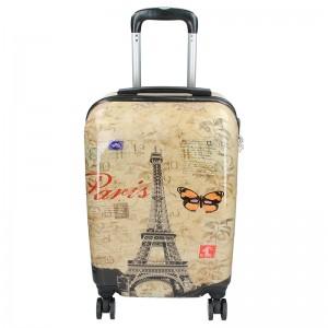 Palubní cestovní kufr Madisson Paris - béžová