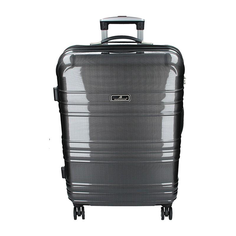 Cestovní kufr Madisson Monaco M - černá 75l