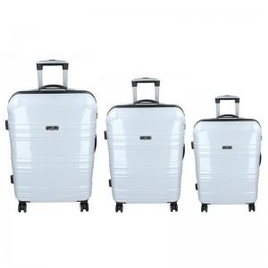 Sada 3 cestovních kufrů Madisson Monaco S,M,L - bílá
