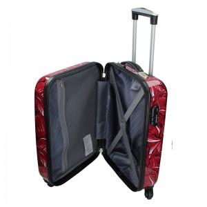 Cestovní kufr Madisson Nice M - červená