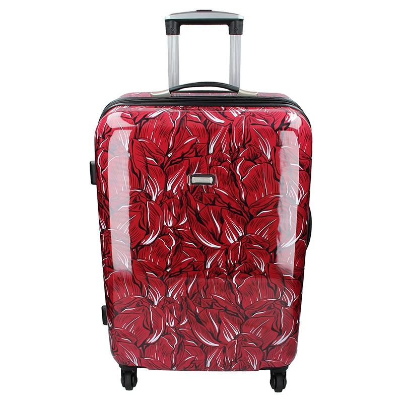 Cestovní kufr Madisson Nice L - červená 122l