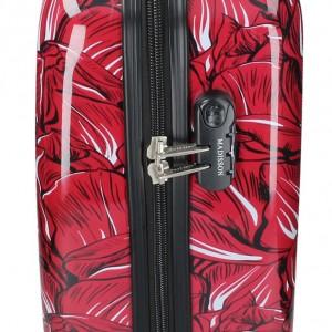 Sada 3 cestovních kufrů Madisson Nice S,M,L - červená
