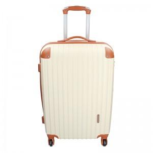 Cestovní kufr Madisson Apolen L - béžovo-hnědá