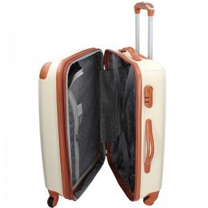 Sada 3 cestovních kufrů Madisson Apolen S,M,L - béžovo-hnědá