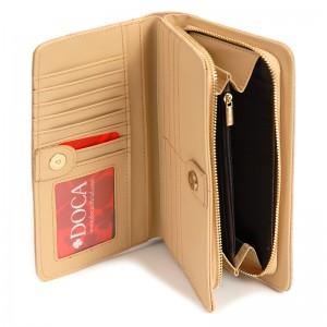 Dámská peněženka Doca 65317 - béžová