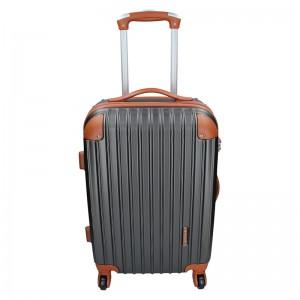 Cestovní kufr Madisson Apolen S - šedo-hnědá