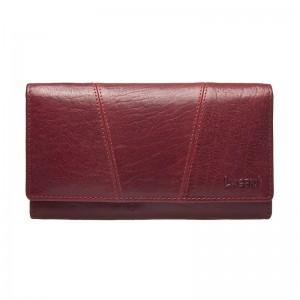Dámská kožená peněženka Lagen Kalisto - červená