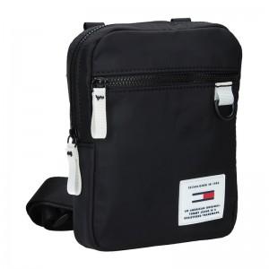 Pánská taška přes rameno Tommy Hilfiger Jeans Sport - černo-bílá