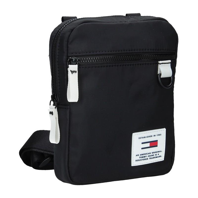 a3197727b Pánská taška přes rameno Tommy Hilfiger Jeans Sport - černo-bílá