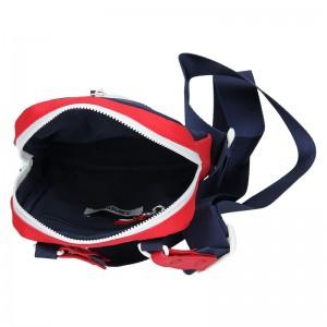 Pánská taška přes rameno Tommy Hilfiger Jeans Sport - černo-červená