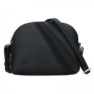 Dámska crossbody kabelka Hexagona Lorra - čierna