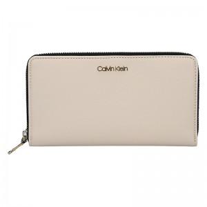 Dámská peněženka Calvin Klein Terra - krémová