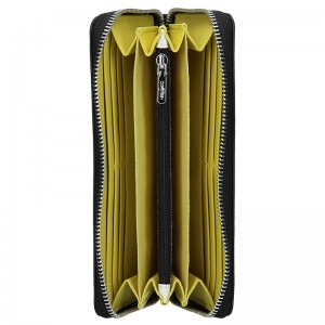 Dámská peněženka Calvin Klein Almera - černo-bílá