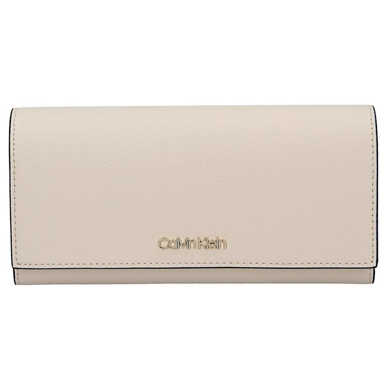 Dámská peněženka Calvin Klein Jolana - krémová