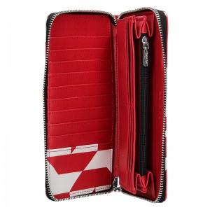 Dámská peněženka Calvin Klein Terra - červeno-bílá