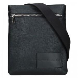 Pánská taška přes rameno Calvin Klein Borat - černá