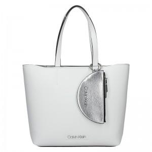 Dámská kabelka Calvin Klein Armen - bílá